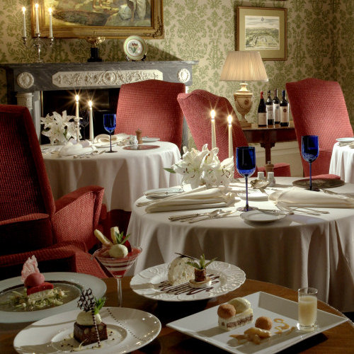 Dining at Inverlochy