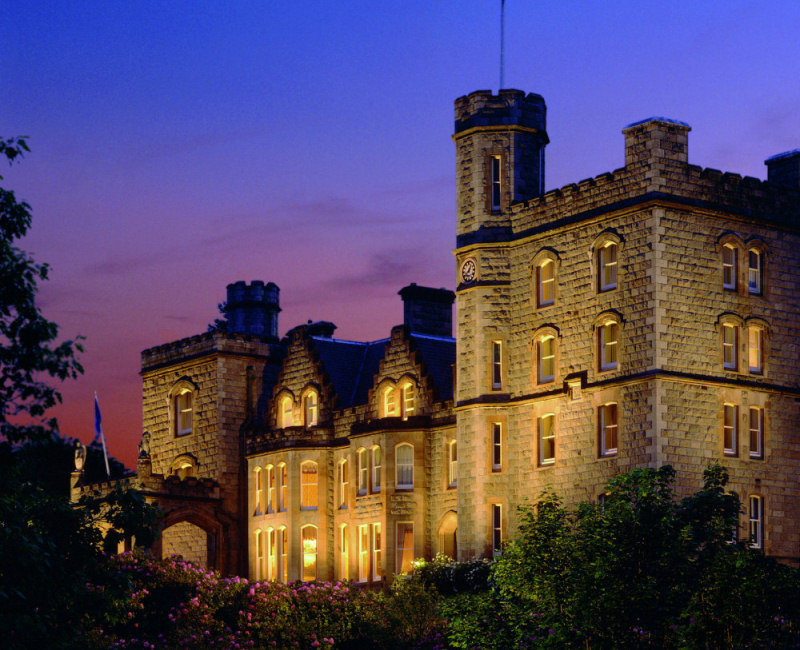 Inverlochy Castle at Night